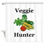 Veggie Hunter Shower Curtain
