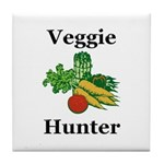 Veggie Hunter Tile Coaster