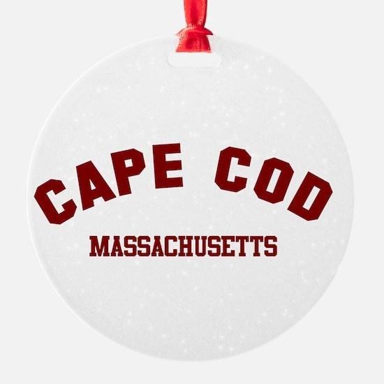 Cape Cod Round Ornament