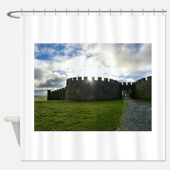 Cute Northern ireland Shower Curtain
