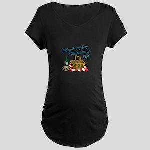 CELEBRATION OF LIFE Maternity T-Shirt