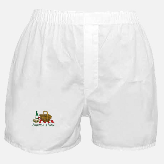 SUMMER IS HERE Boxer Shorts