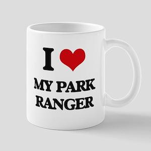 I Love My Park Ranger Mugs