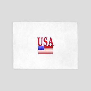 USA Shirt 5'x7'Area Rug