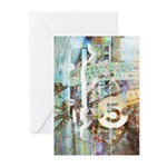Ferris Wheel 5 Greeting Cards (Pack of 6)