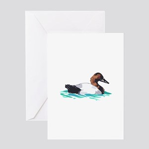 CANVASBACK DUCK Greeting Cards
