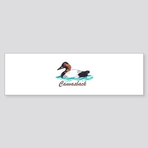 CANVASBACK Bumper Sticker