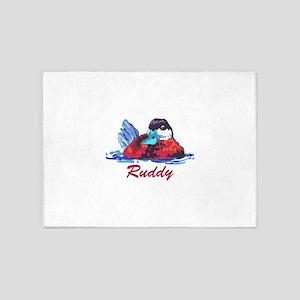 RUDDY DUCK 5'x7'Area Rug