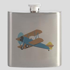 VINTAGE BIPLANE Flask