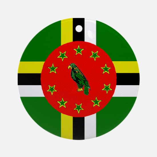 DOMinica.png Ornament (Round)