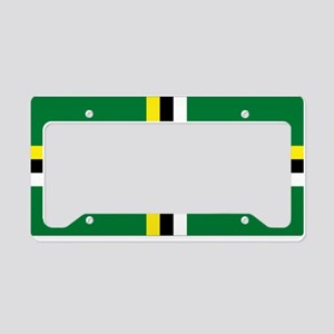 DOMinica License Plate Holder