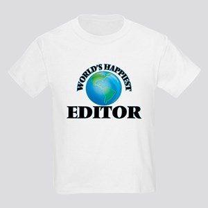 World's Happiest Editor T-Shirt