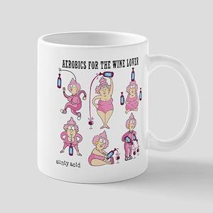 Wine Aerobics Mug