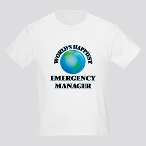 World's Happiest Emergency Manager T-Shirt