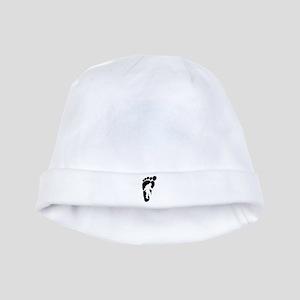 Bigfoot print baby hat