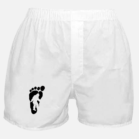 Bigfoot print Boxer Shorts