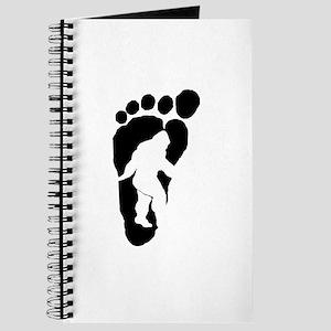 Bigfoot print Journal