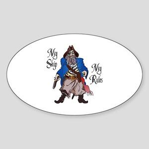 MY SHIP MY RULES Sticker
