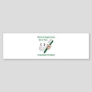 DENTAL HYGIENISTS Bumper Sticker
