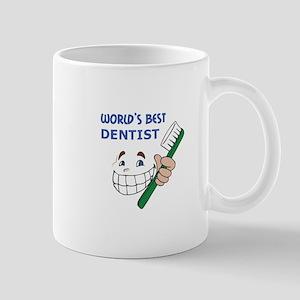 WORLDS BEST DENTIST Mugs