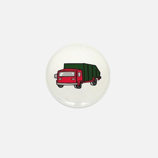 GARBAGE TRUCK Mini Button
