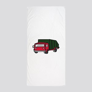 GARBAGE TRUCK Beach Towel