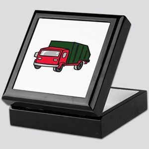 GARBAGE TRUCK Keepsake Box
