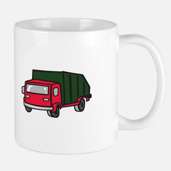GARBAGE TRUCK Mugs
