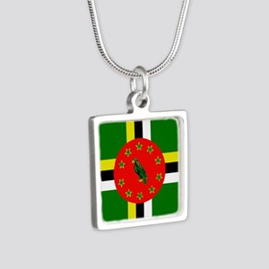 The Commonwealth of Dominica flag Necklaces