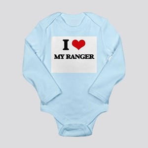 I Love My Ranger Body Suit