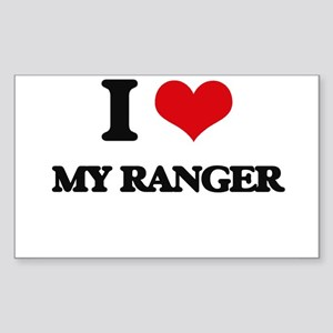 I Love My Ranger Sticker