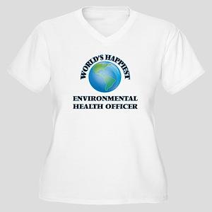 World's Happiest Environmental H Plus Size T-Shirt
