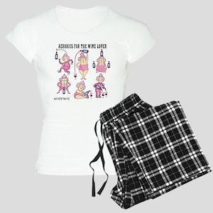 Wine Aerobics Women's Light Pajamas