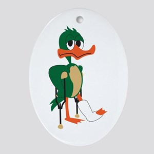 Lame Duck Ornament (Oval)