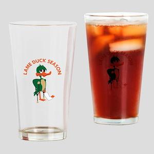 LAME DUCK SEASON Drinking Glass
