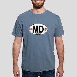Moldova Euro Oval T-Shirt