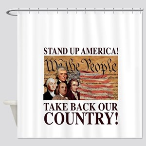 Founding Fathers Shower Curtain