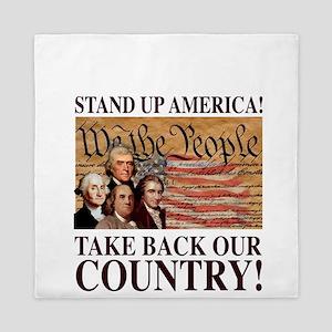 Founding Fathers Queen Duvet