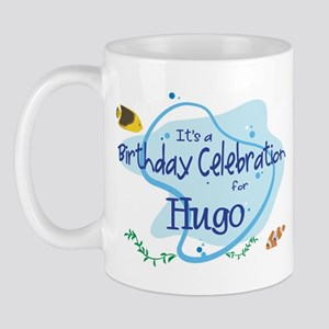 Celebration for Hugo (fish) Mug