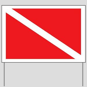 scuba32 Yard Sign