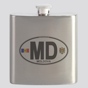 md-oval Flask