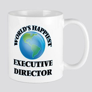 World's Happiest Executive Director Mugs