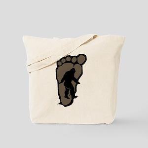 Bigfoot print b2 Tote Bag