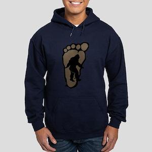 Bigfoot print b2 Hoodie (dark)