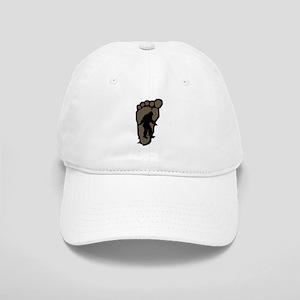 Bigfoot print b2 Cap