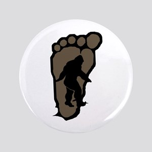 "Bigfoot print b2 3.5"" Button"