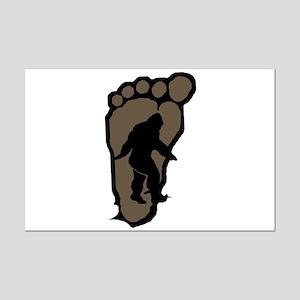 Bigfoot print b2 Mini Poster Print