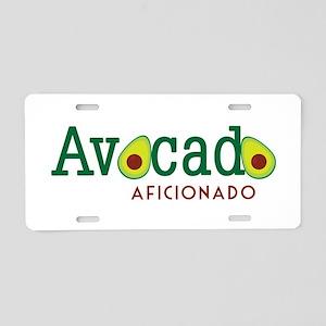 Avocado Aficionado Aluminum License Plate