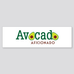 Avocado Aficionado Bumper Sticker
