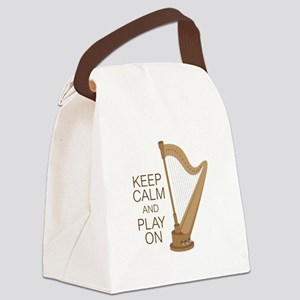 Play On Canvas Lunch Bag